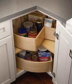 Lazy Susan For A Cornet Cabinet
