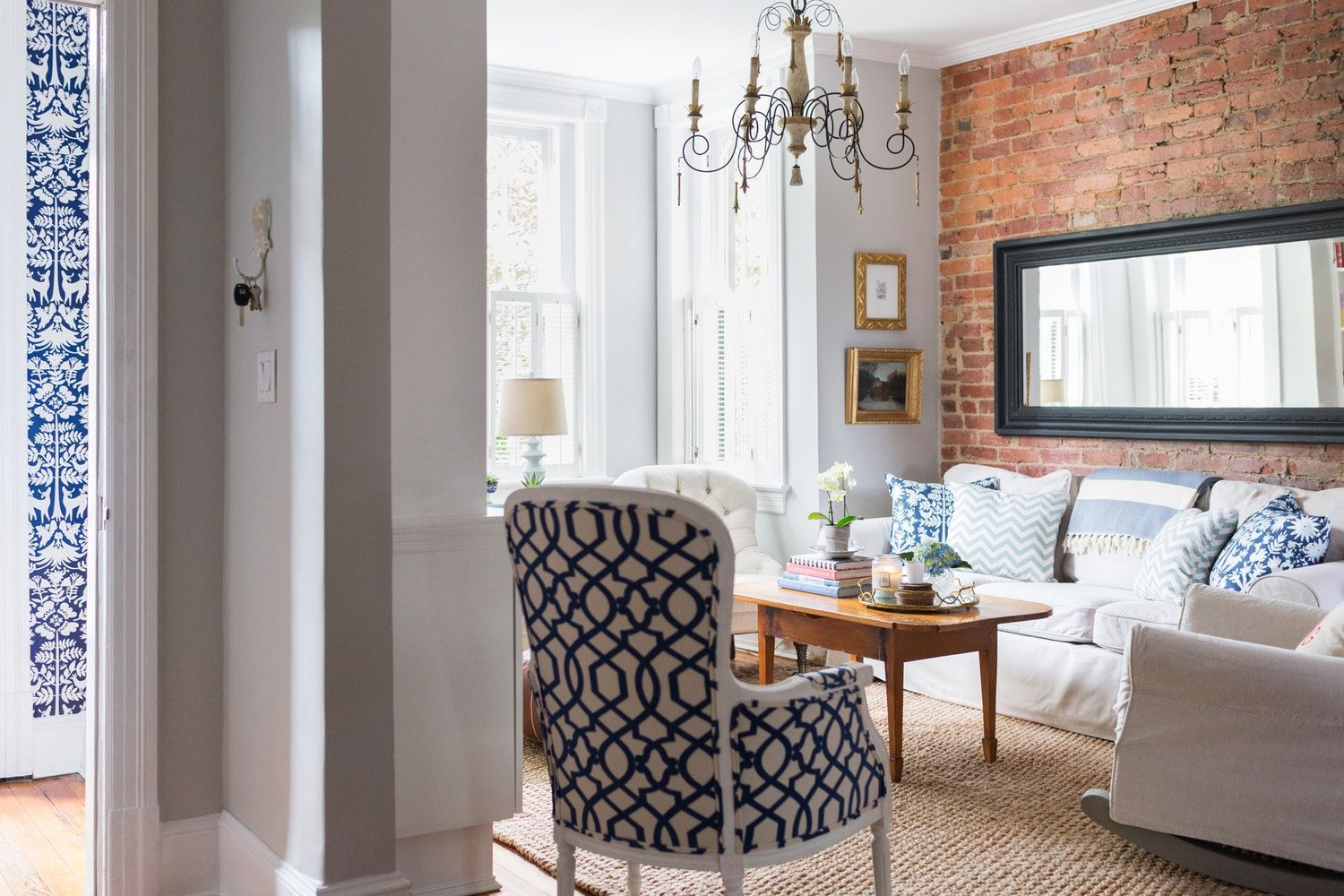 Cozy Southern Charm In A Hundred Year Old D C Family Row House House Tour Apartment Therapy Main Apartment