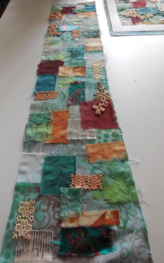 Mixed media textile