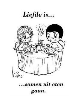 Magnifiek Liefde is ,,,,,, samen uit eten gaan. | brood planken met tekst @XR09