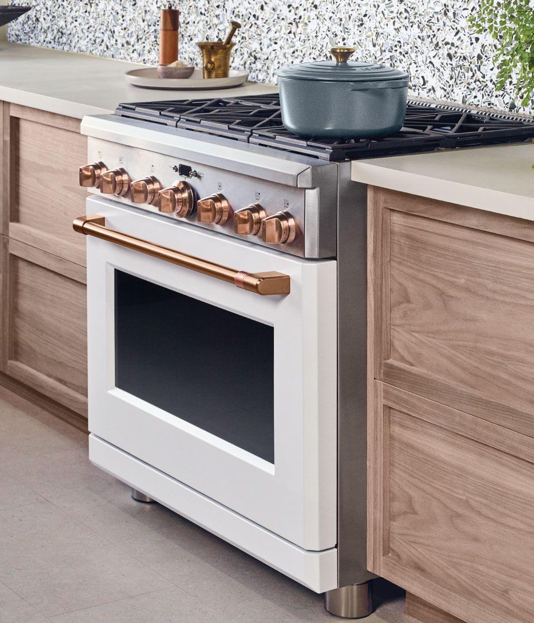 Matte White Customizable Professional Kitchen Appliances