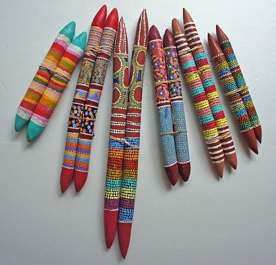 Aboriginal Clap Sticks Pathfunder2015 Ideas Craft