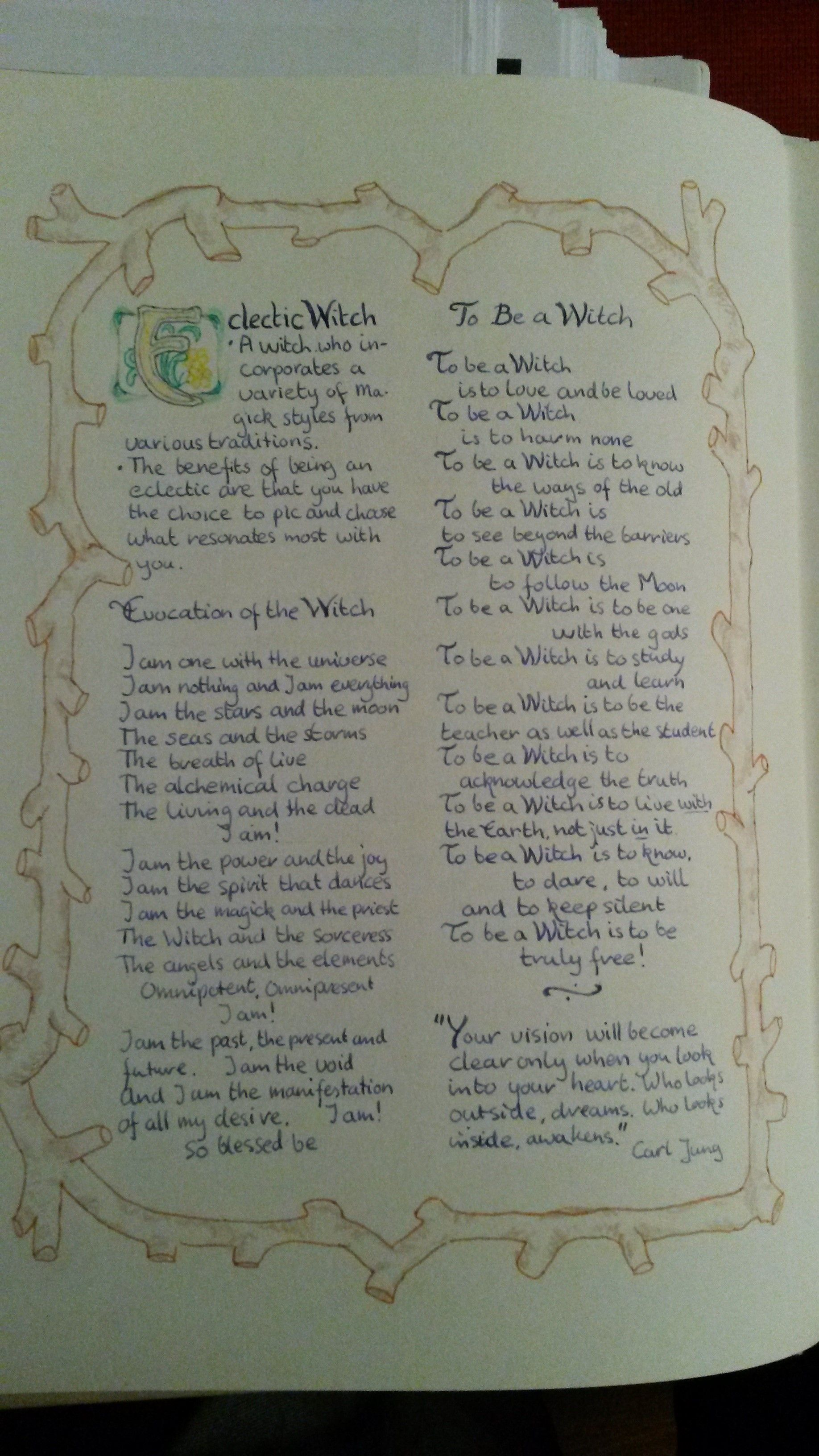 Wiccan Witches Types - Year of Clean Water