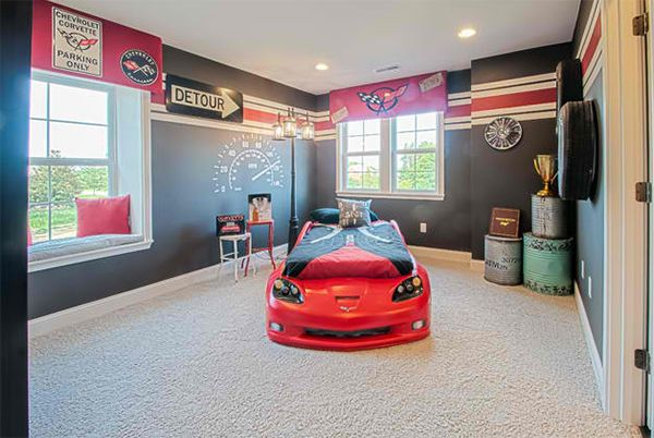 Wonderful Zoom With Style In 20 Car Themed Bedroom For Your Boys