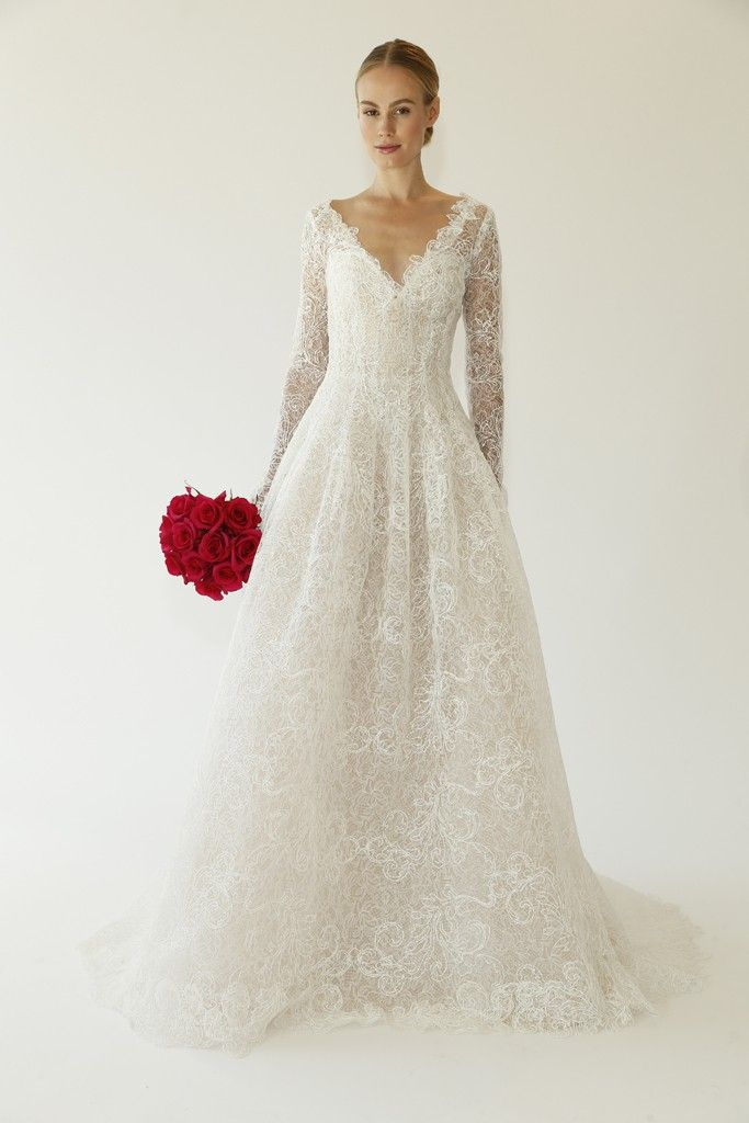 Oscar de la renta bridal fall 2015 oscar de la renta fall 2015 oscar de la renta bridal fall 2015 photo by george chinsee junglespirit Choice Image