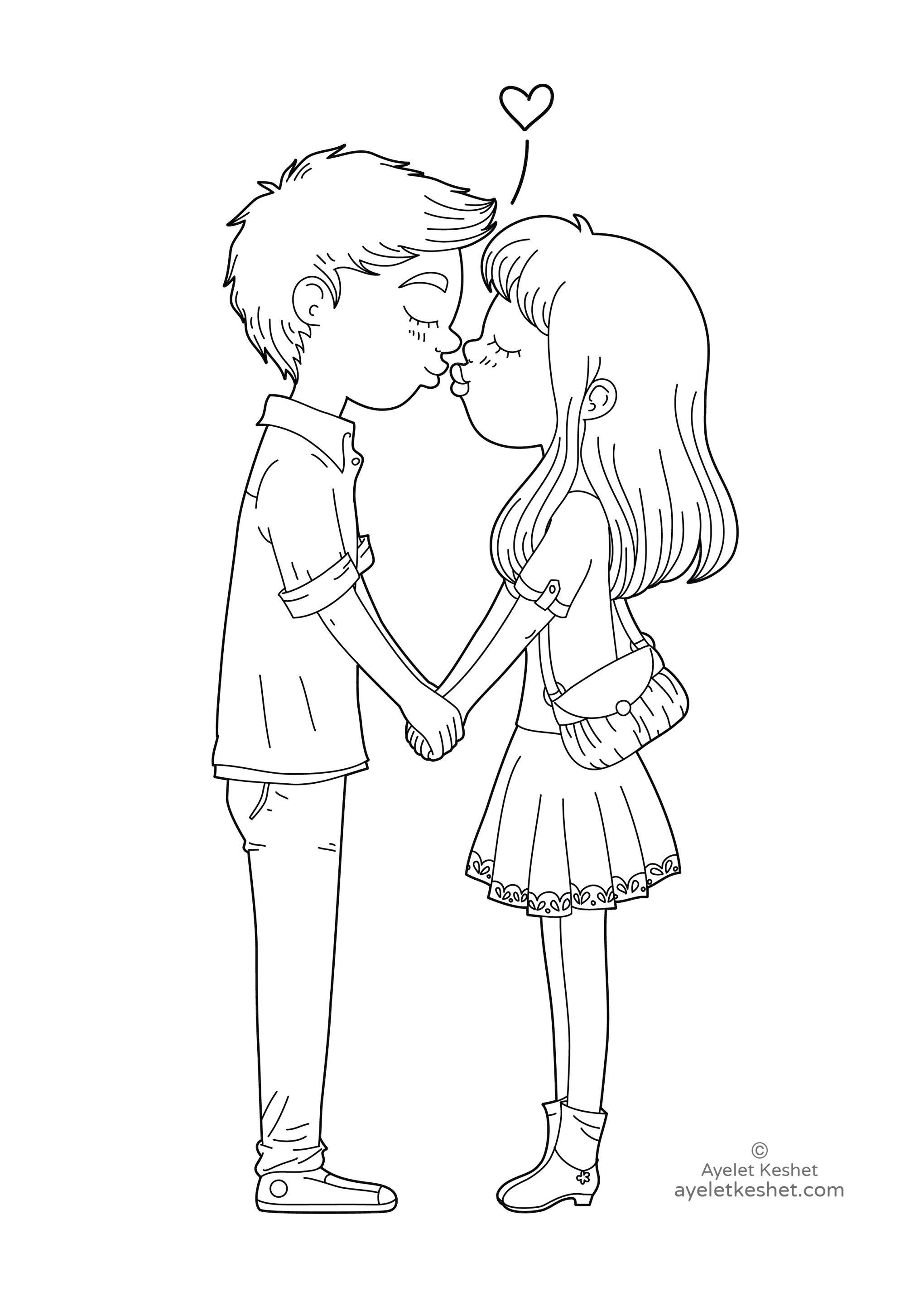 Free Coloring Pages About Feelings