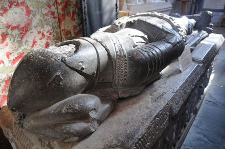 Alexander Stewart's Tomb in Dunkeld Cathedral