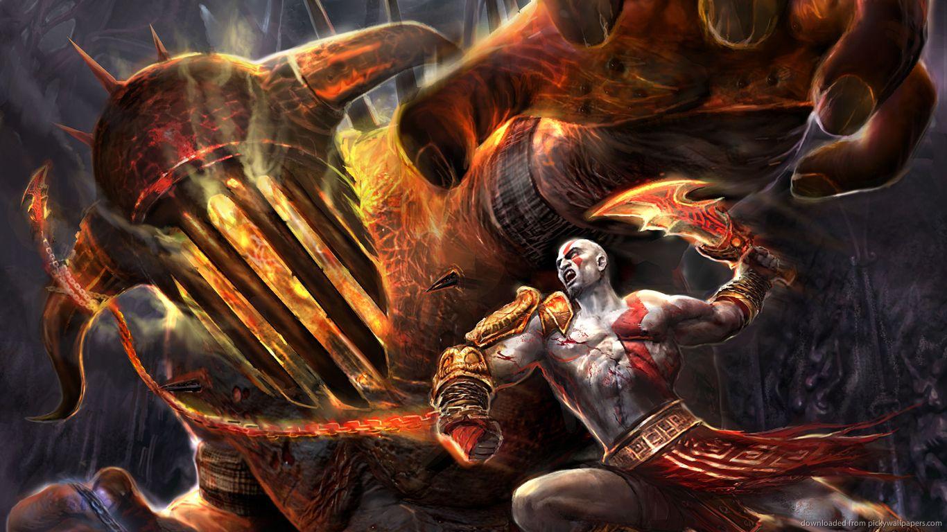 God Of War Hades Wallpaper Full Hd Hgm Kratos God Of War God Of War War