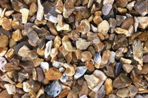 Using A Decorative Gravel Or Flint Chippings Over A Strong Weed