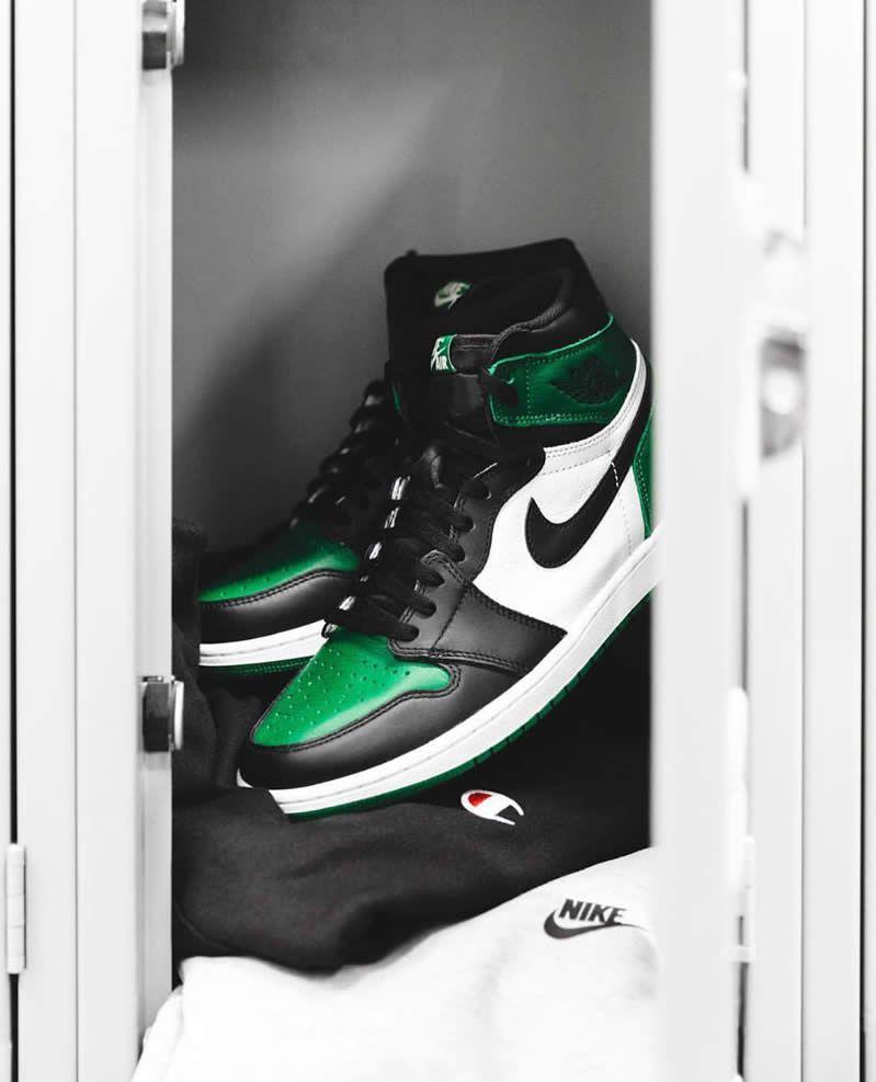 e1ee9b4753db Air Jordan 1 Retro High OG  Pine Green  Mens 555088-302 GS 575441-302 Shoes  - www.anpkick.com
