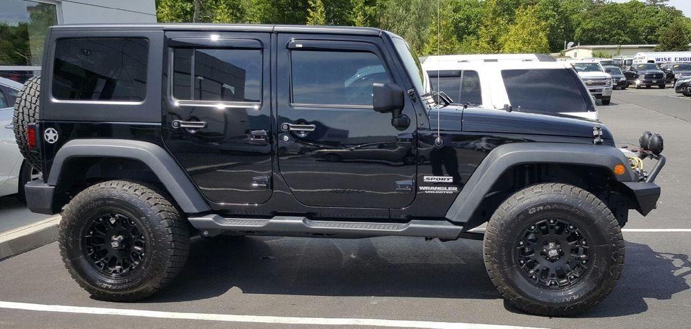 eBay 2014 Jeep Wrangler Unlimited Sport Sport Utility 4