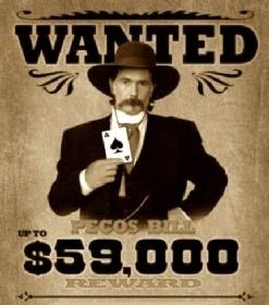 Wanted Poster for Pecos Bill