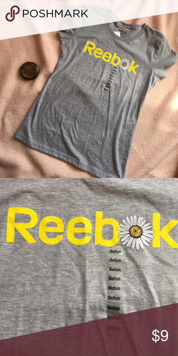 Reebox Tee Shirt Athletic Top Reebok Tops Tees - Short Sleeve