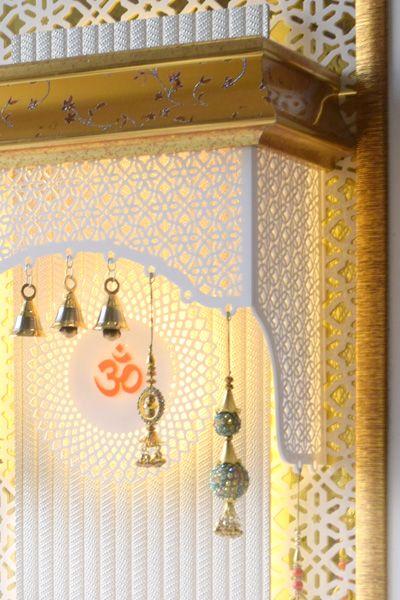 Marble like finish Mandir for Home  puja room in 2019  Pooja room design Pooja room door