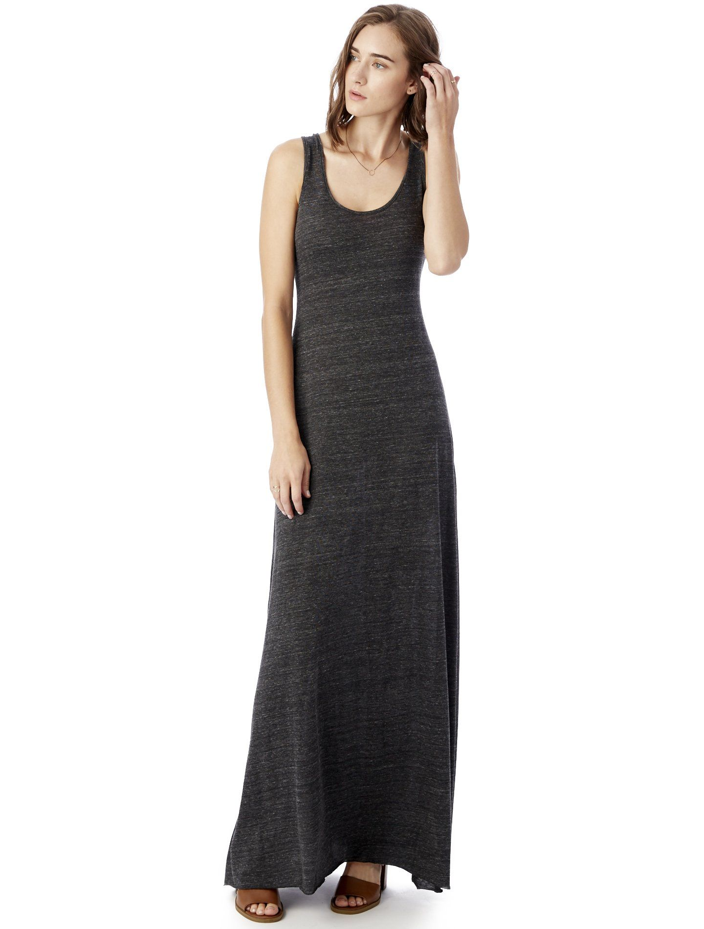 7e1acb14fea Women s Alternative Apparel Double Scoop Tank Dress