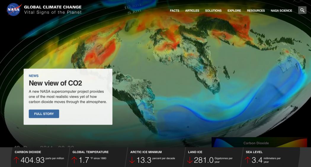 nasa confirms climate change is fake - 1050×565