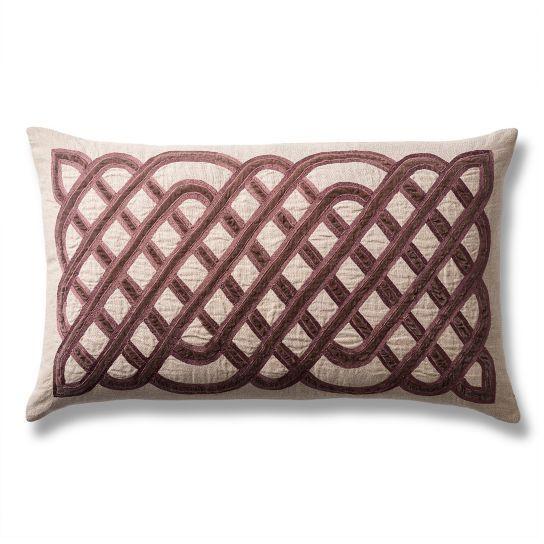 Velvet Lattice Decorative Lumbar Pillow Living Room Pinterest Amazing Decorative Lumbar Pillows For Chairs