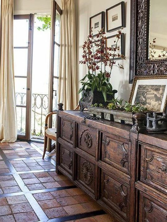 Spanish colonial mission style pinterest spanish - Colonial style homes interior ...