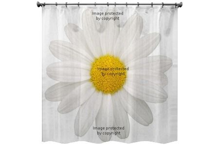 Lavender Inspired Shower Curtain Daisy Shower Curtains Towels