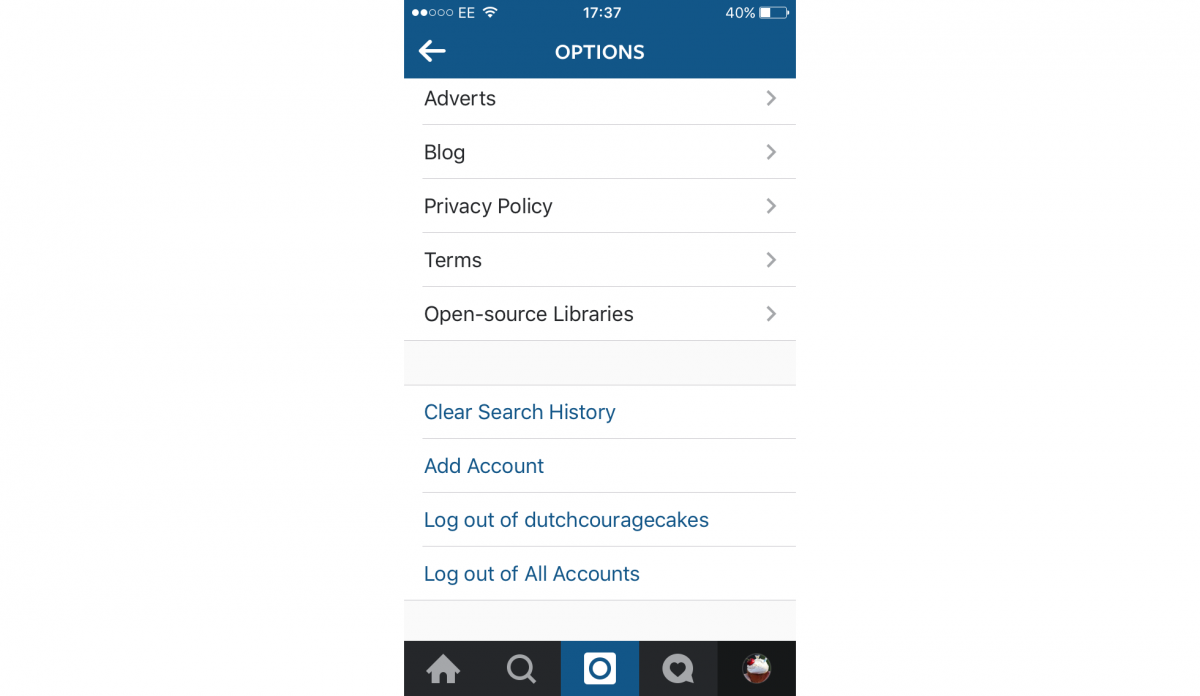 Instagram App Now Allows Multiple Accounts Here's How To Do It To The, Ios  And