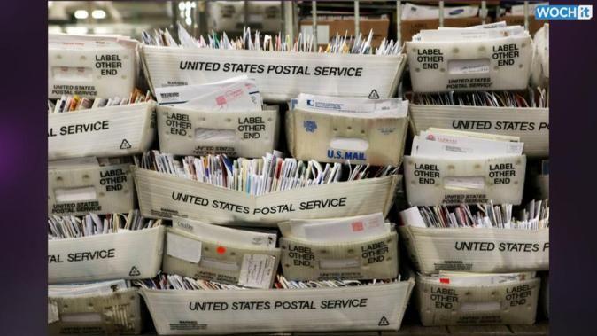 U.S. Postal Service loss hits 1.9 billion; package volume