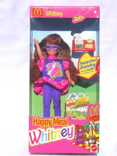 Barbie Happy Meal Whitney 1993 By Mattel Http Www Amazon Com Dp B005jqvm34 Ref Cm Sw R Pi Dp 3jezrb1j3209r Barbie Childhood Toys Vintage Barbie Dolls