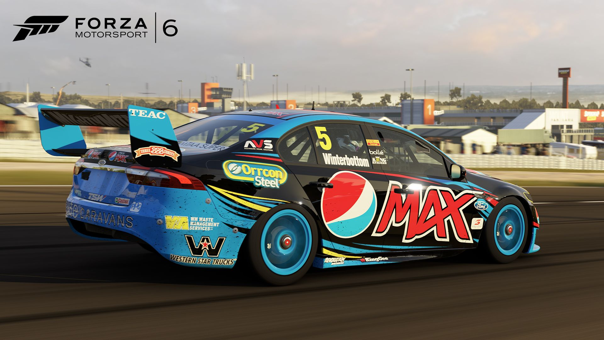 Race Down Under With V8 Supercars Australia In The Forza Motorsport 6 Garage V8 Supercars Australia Forza Motorsport 6 Super Cars