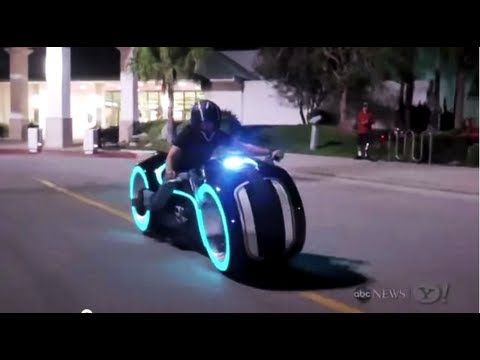 ▶ Tron Light Bike ( Lithium Powered ) - YouTube
