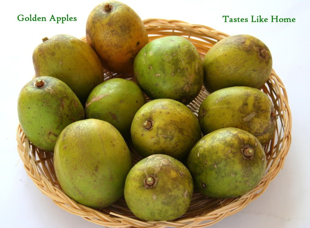 Golden Apple Fruit Images