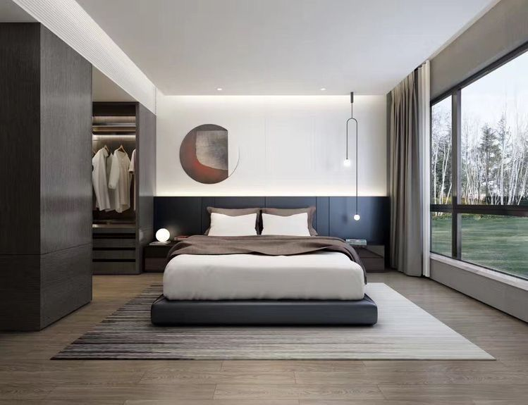 Pin Oleh Ningke Zhang Di Bedroom Atmosphere 卧室 Di 2020 Kamar Tidur Kecil Kamar Tidur Modern Dekorasi Rumah
