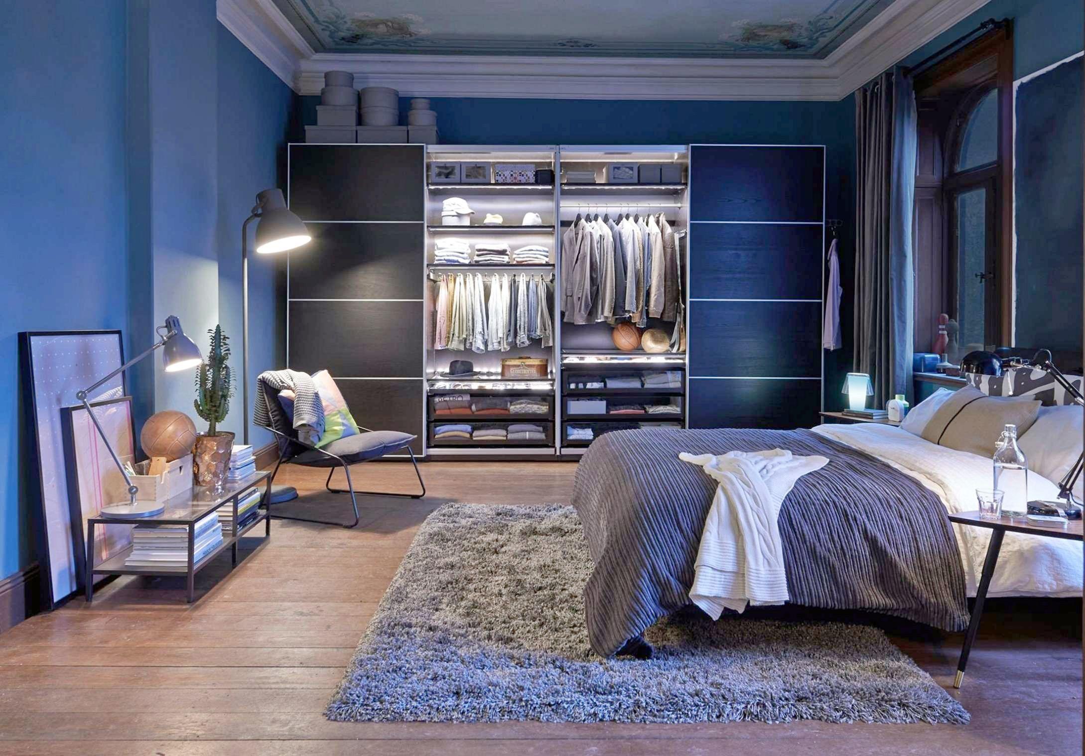 Elegant 10 Masculine Bedroom Ideas For Single Men in 2020 ...