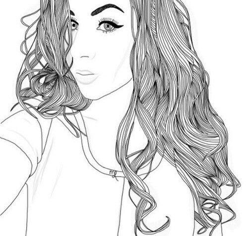 Pin De Priscila Rodriguez En Selfie Dibujos Tumblr