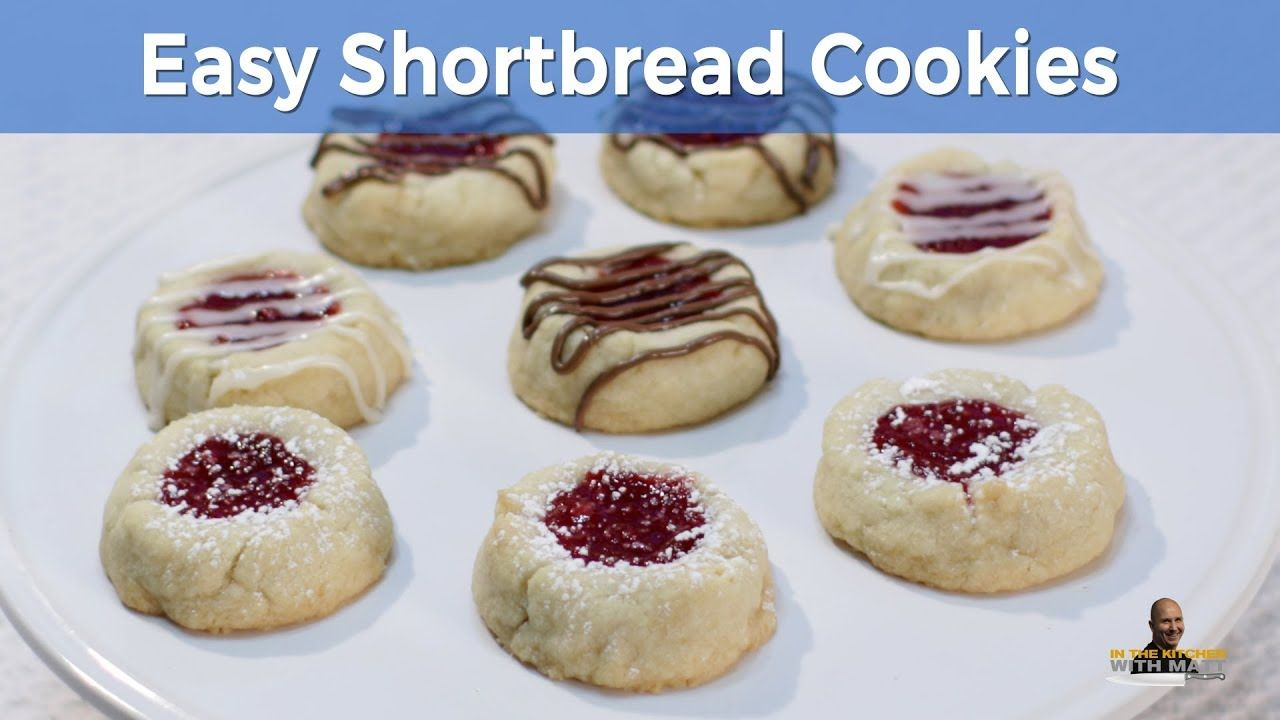 How to Make Shortbread Cookies | Easy Short Bread Cookie Recipe (Short Version)