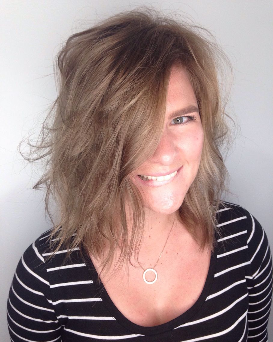 Cool Light Brown Hair Color Balayage Specialist San Diego Andie