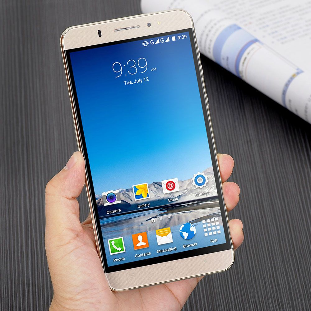 45809a5de28 6 Inches Quad Core Android 5.1 Smartphone Y20 Dual SIM Card 8GB ROM 1G RAM  Xgody