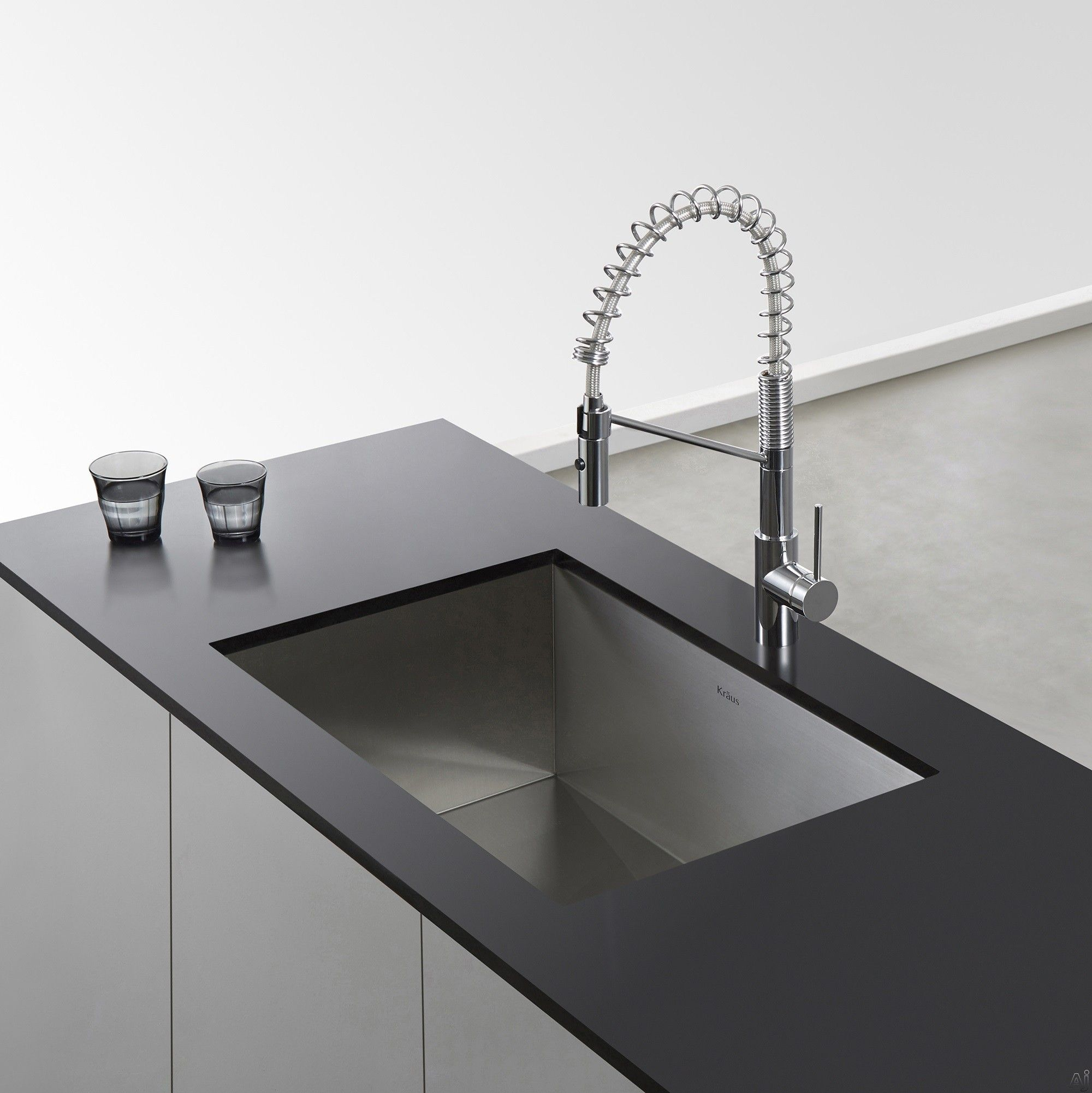 Kraus KPF2630 Single Lever Faucet with 9 1/4 Inch Spout