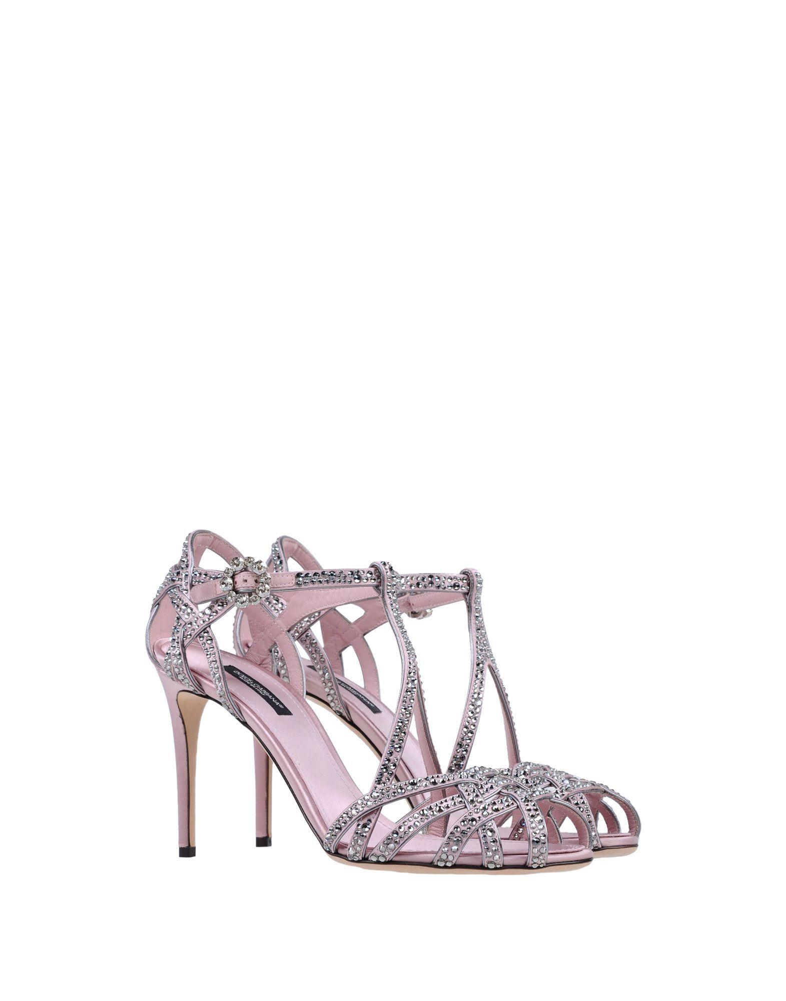 61417bf139f Πέδιλο Dolce & Gabbana Γυναίκα - Πέδιλα Dolce & Gabbana στο YOOX -  11376694RW
