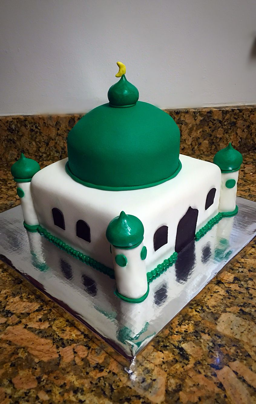 Mosque cake! Perfect for Eid or Ramadan Cake decorating ...
