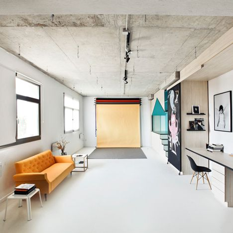 Photography Studio By Input Creative Studio Features A Playhouse Photography Studio Design Studio Interior Studio Layout