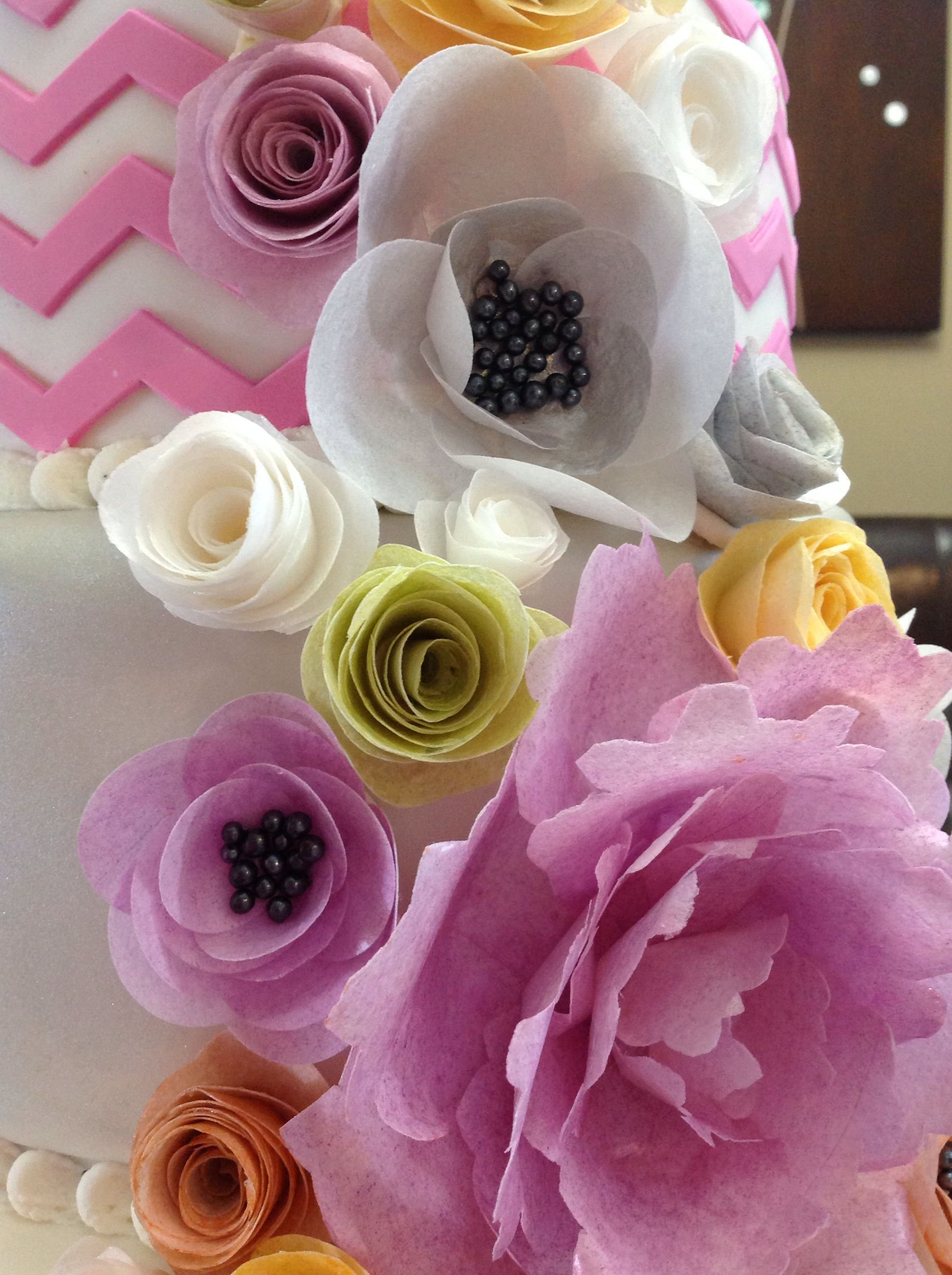 Rice paper flowers my cakes pinterest rice paper rice and rice paper flowers mightylinksfo