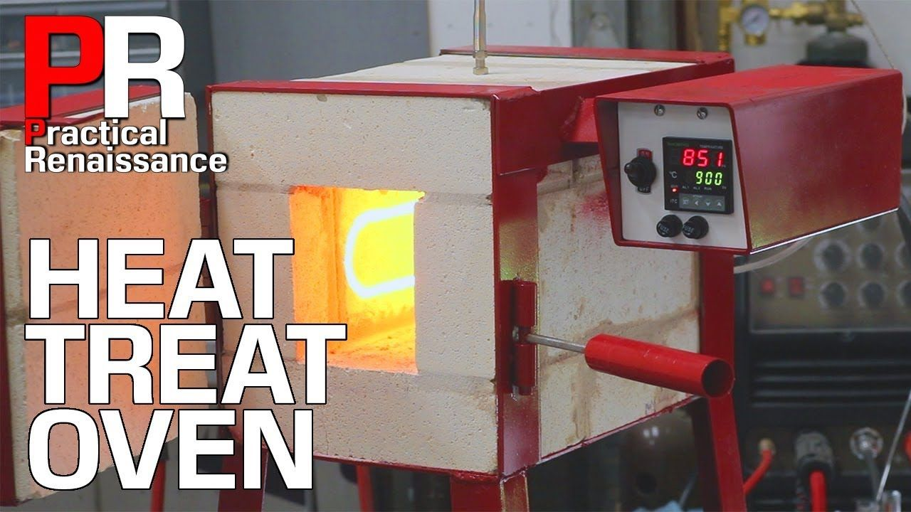 Making a High Temperature Electric Oven for Heat Treating Steel!! - YouTube | Heat treating. Electric oven. Home workshop