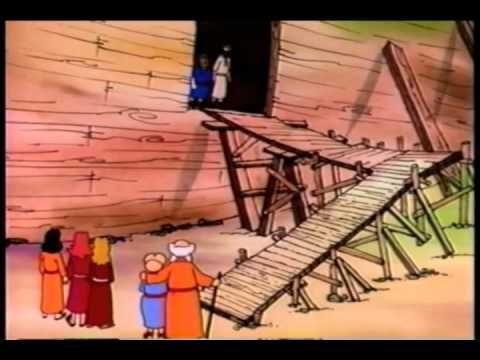 Noah's Ark Bible Story For Kids - ( Children Christian Bible Cartoon Movie ) - YouTube