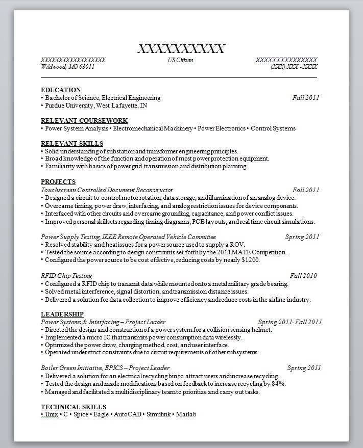 High School Student Resume Template No Experiencesample Resume - relevant coursework resume
