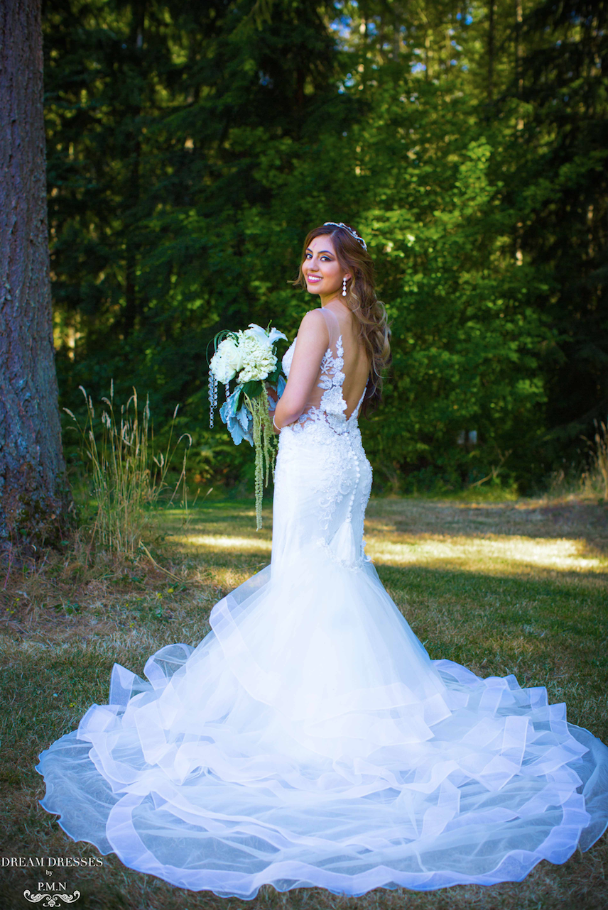 Detachable Train for Wedding Dress (Charee) Wedding