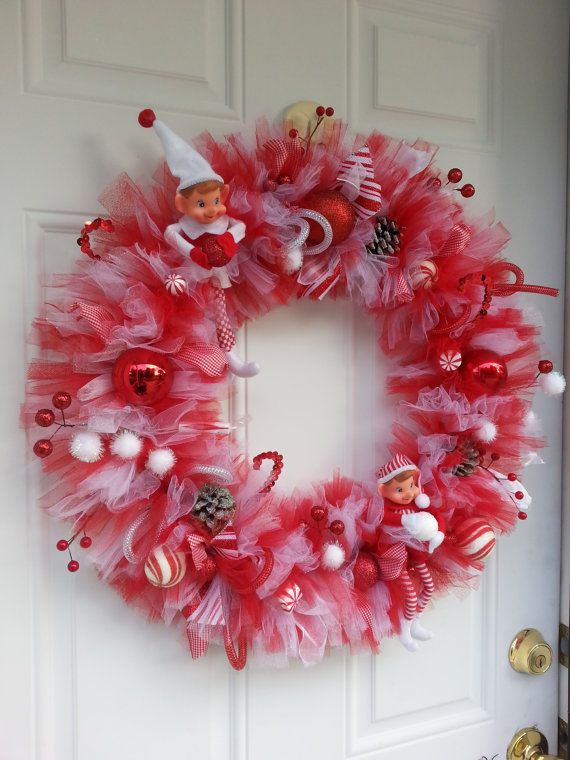 In the fifth grade with the help of a wonderful nun named Sister Mary Charles (nee Catherine Lily) we created many really nice Christmas decorations; one of them was a tulle wreath.