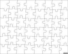 Jigsaw Puzzle Templates 이미지 포함 퍼즐 배경 교실