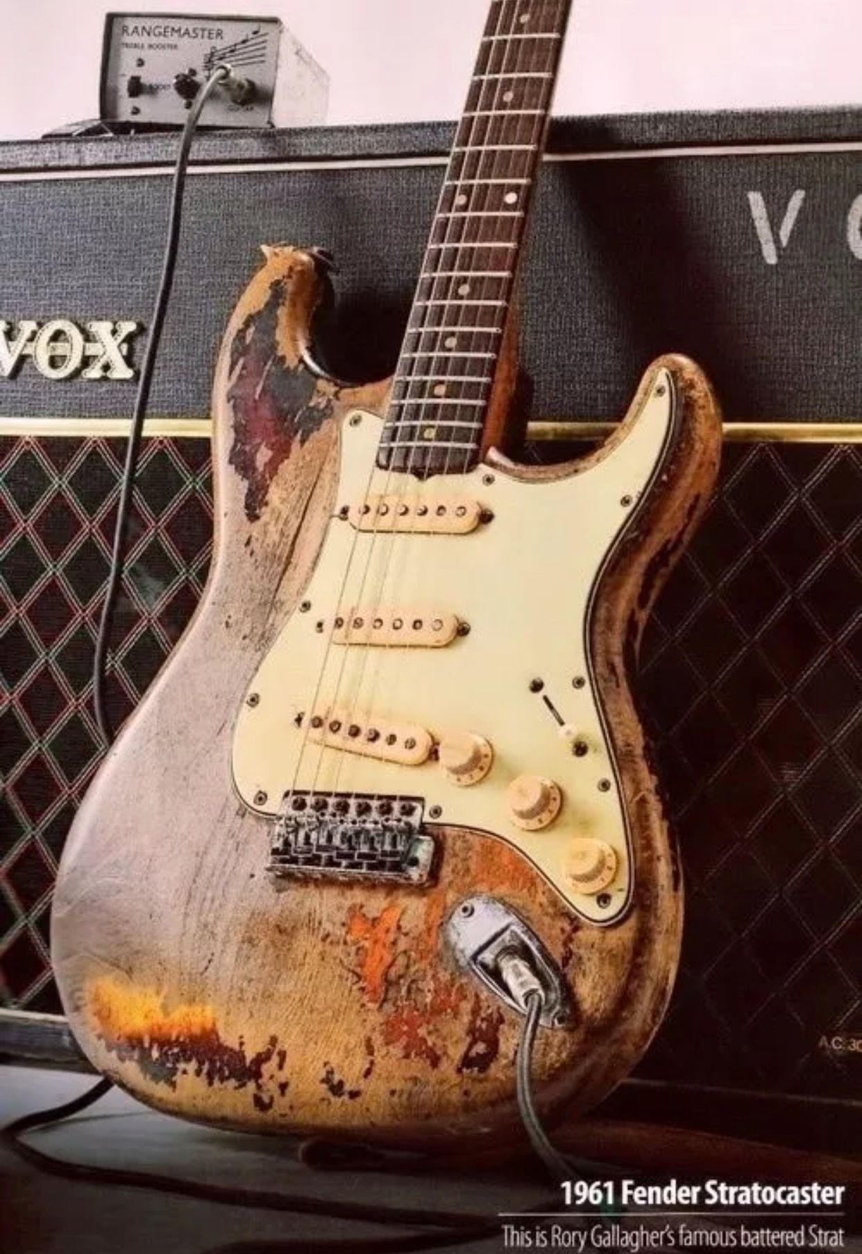 Rory Gallagher's 1961 Battered Stratocaster | Guitars ...
