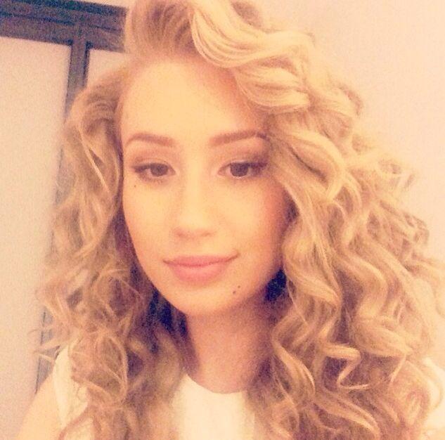 Iggy Azalea Curly Hair 1 L Pinterest Curly Hair Styles Hair Hair Shows