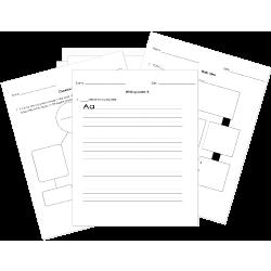 common core standards aligned ela worksheets by grade 4th ela language arts worksheets. Black Bedroom Furniture Sets. Home Design Ideas