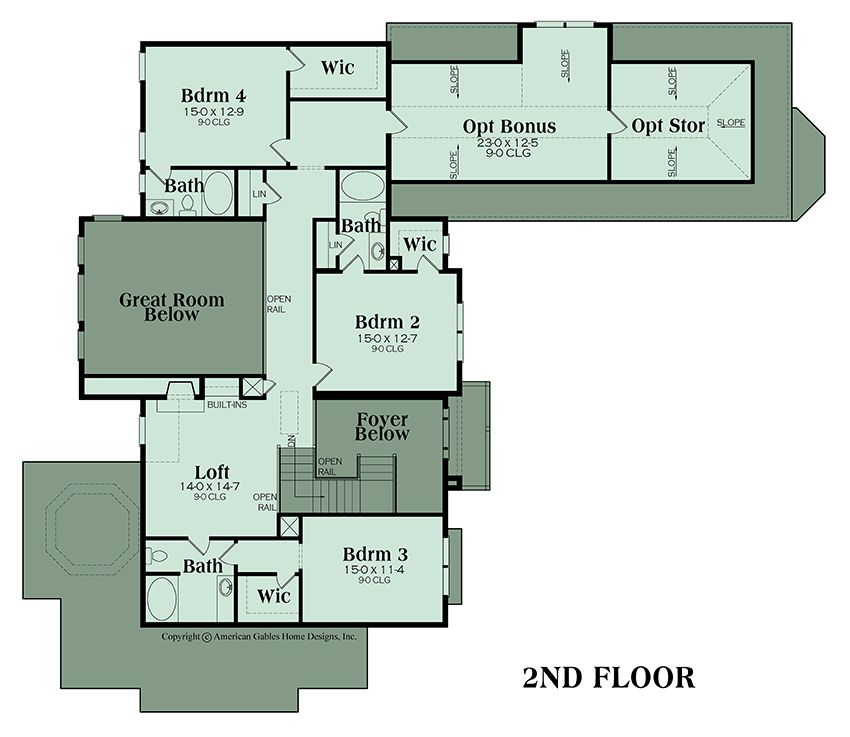 luxury plan 4226 square feet 4 bedrooms 4 bathrooms rh pinterest com